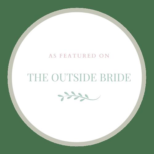 The Outside Bride badge