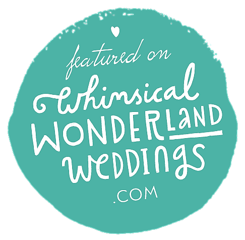 The Whimsical Wonderland Weddings Badge