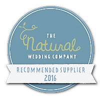 The Natural Wedding Company Recommended Supplier Badge