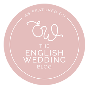 The English Wedding Blog Feature Badge