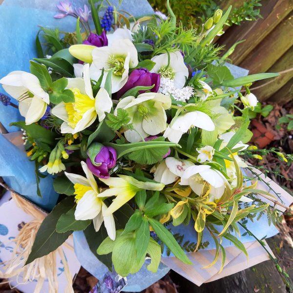 Camomile Cornflowers Bouquet Standard Spring