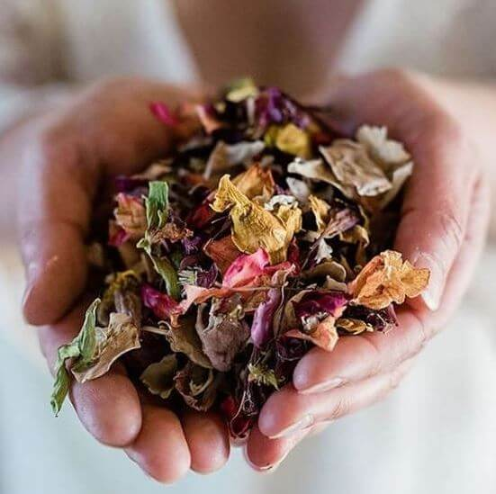 Camomile Cornflowers Handful of Confetti