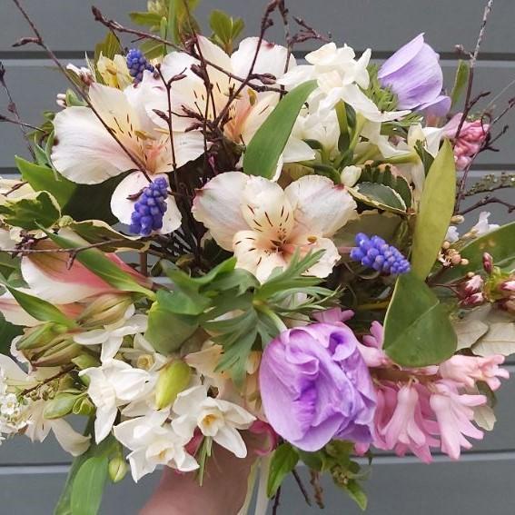 Camomile & Cornflowers Spring Bouquet